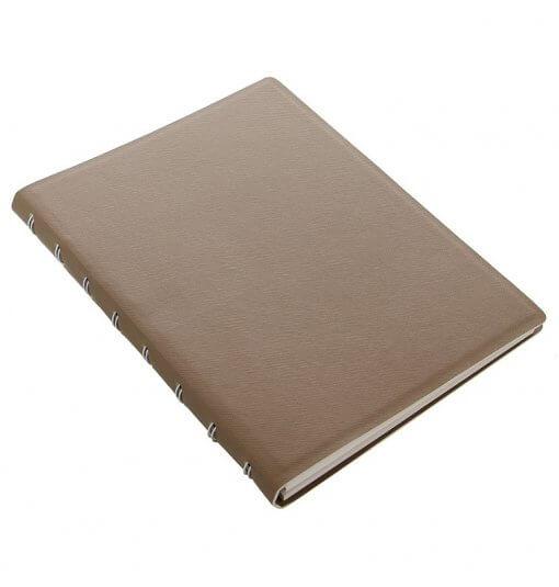Filofax notitieboek Saffiano Fawn A5 1