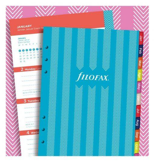 Filofax navulling organizer A5 - Stripes agenda 2020