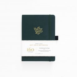 Archer and Olive Notitieboek B5 Dot Grid - Deep Green