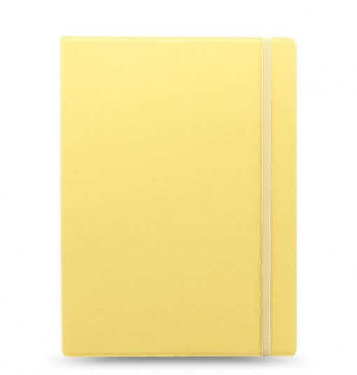 Filofax notitieboeken classic pastel A4 lemon