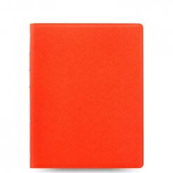 Filofax Notitieboek Saffiano Bright Orange A5