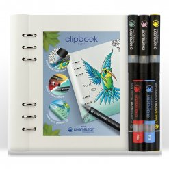 Filofax Clipbook A5 Notebook & Chameleon Pens Bundle