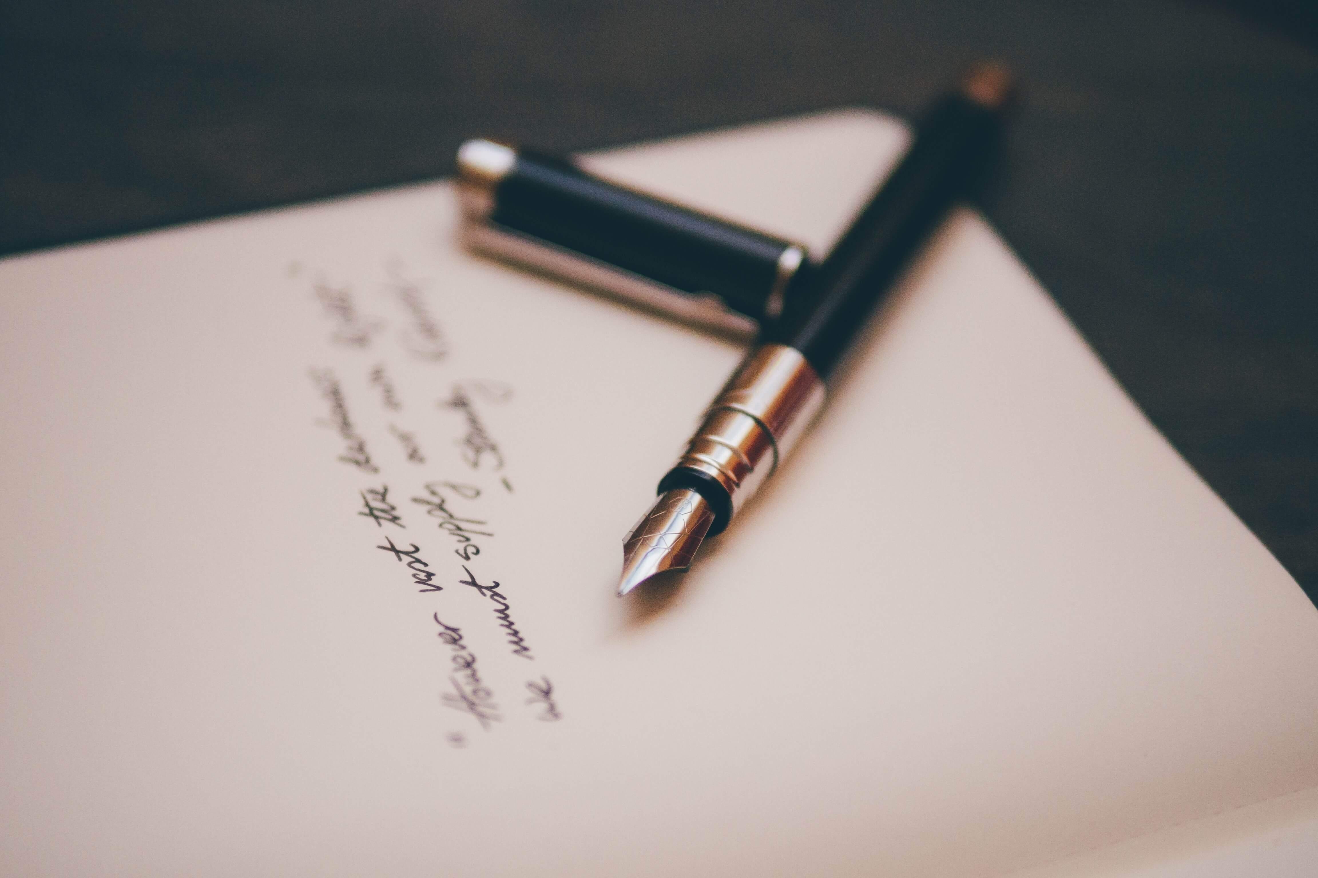 Wat zegt jouw handschrift over jouw persoonlijkheid?
