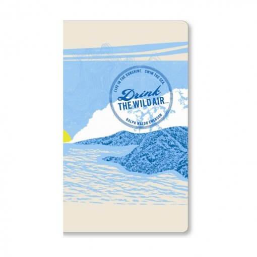 Compendium Notitieboek Drink the wild air