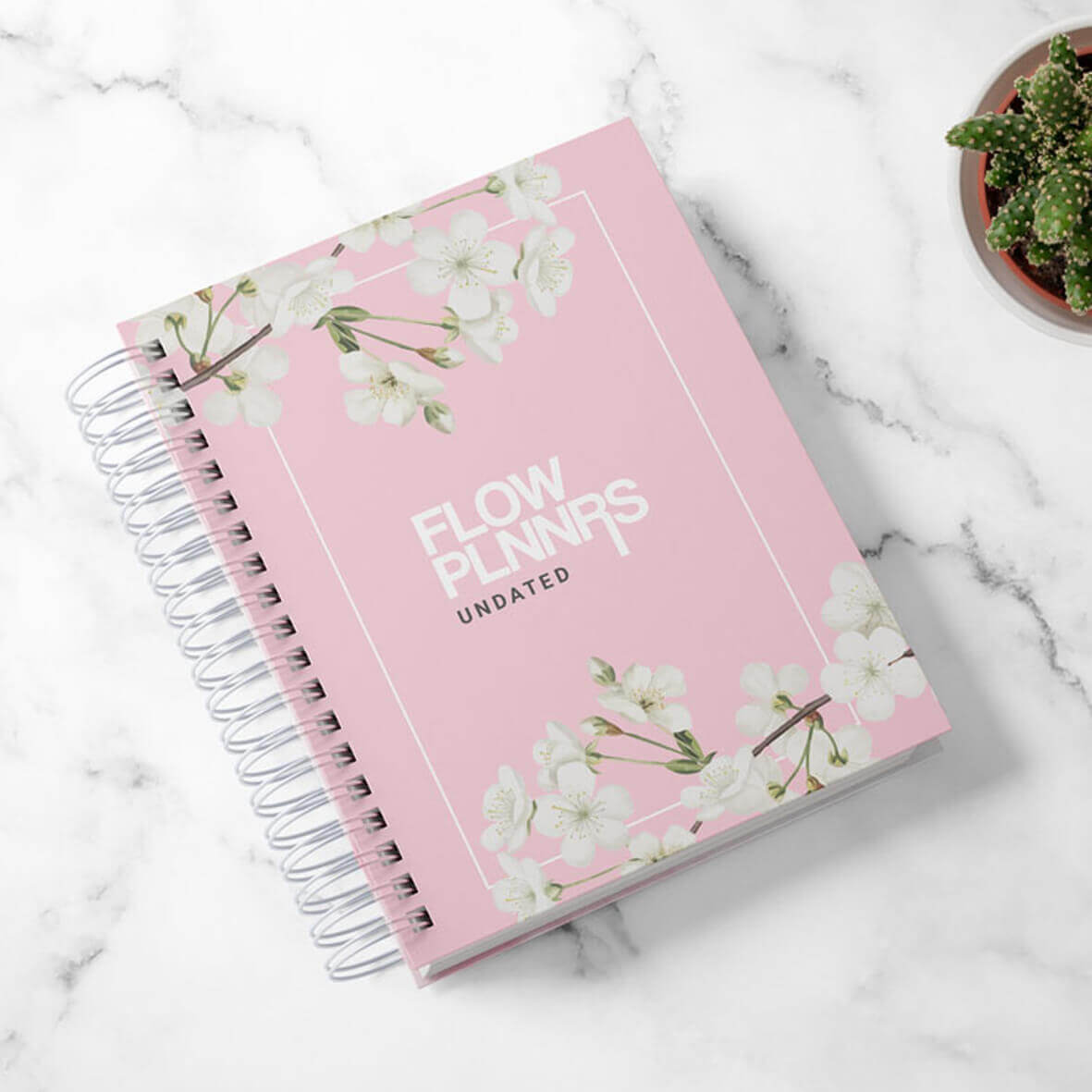 Flow Planner - Classic Pink Floral