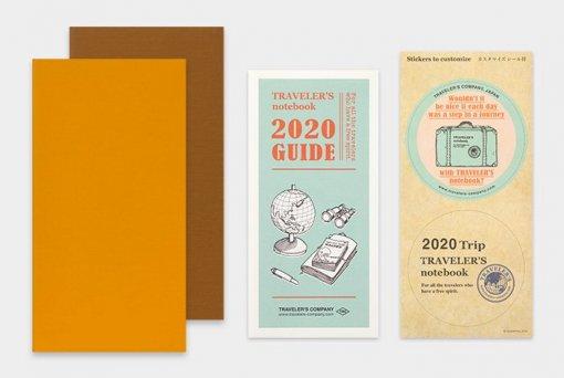 Midori Traveler's Notebook navulling diary weekly Vertical 2020 1