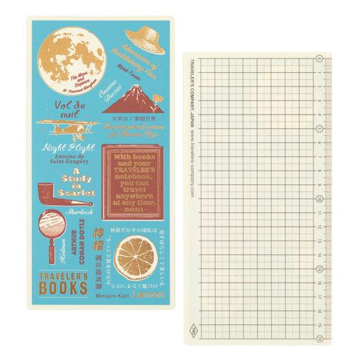 Midori Traveler's Notebook 2021 Underlay