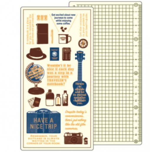 Midori Traveler's Notebook 2020 Underlay