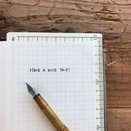 Midori Traveler's Notebook 2020 Underlay 4