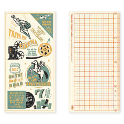 Midori Traveler's Notebook 2022 Underlay