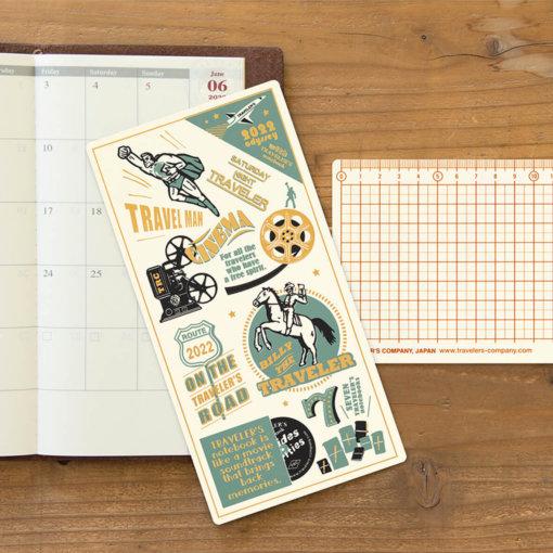 Midori Traveler's Notebook 2022 Underlay 1
