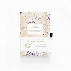 Archer and Olive Notitieboek Dot Grid - Blush A Bye
