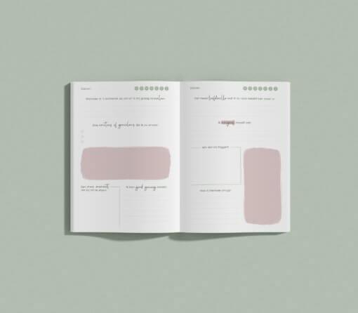 Aandachtsmomenten Journal roze