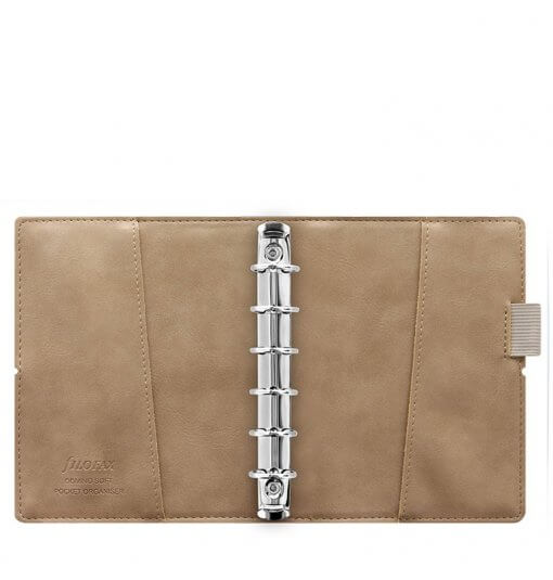 Filofax organizer Domino Soft Fawn Pocket 3