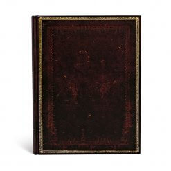 Paperblanks notitieboek Old leather Black Moroccan ultra (zonder flap)