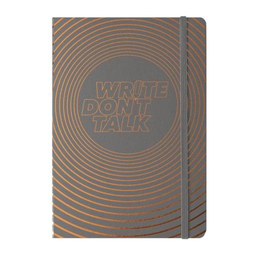 Bullet Journal Leuchtturm1917 Write Don't Talk - Anthracite