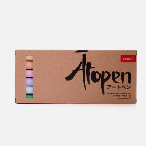 Dingbats* Atopen dual brush pens - pastel