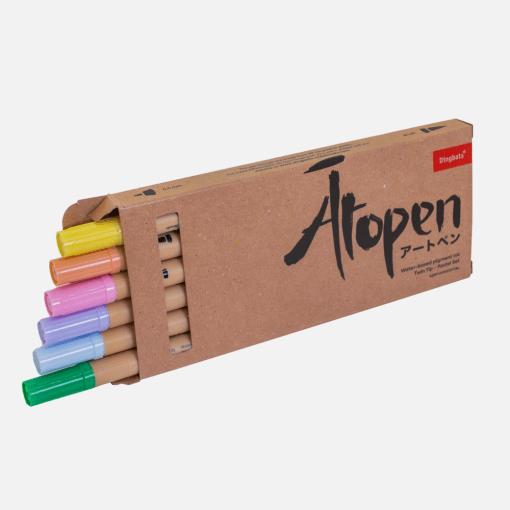 Dingbats* Atopen dual brush pens - pastel 1