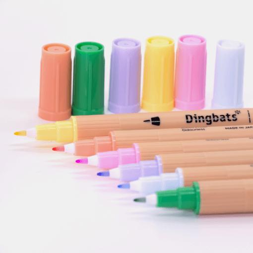 Dingbats* Atopen dual brush pens - pastel 2