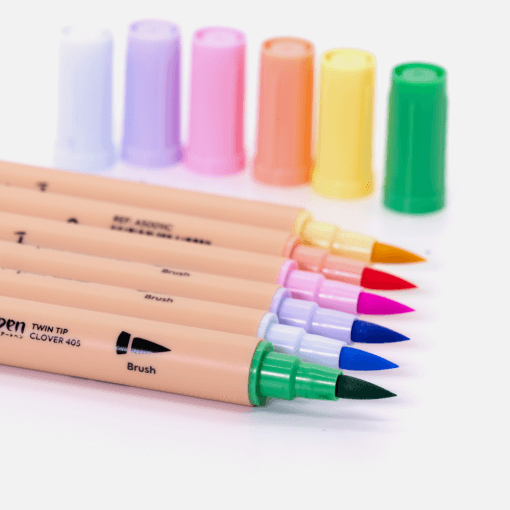 Dingbats* Atopen dual brush pens - pastel 3