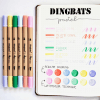Dingbats* Atopen dual brush pens - pastel 4