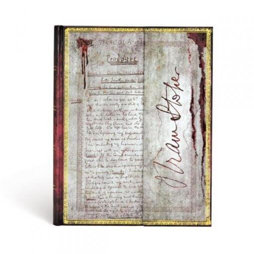 Paperblanks notitieboek Bram Stoker Dracula Ultra