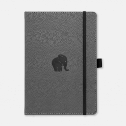 Dingbats Notebook Wildlife Grey Elephant