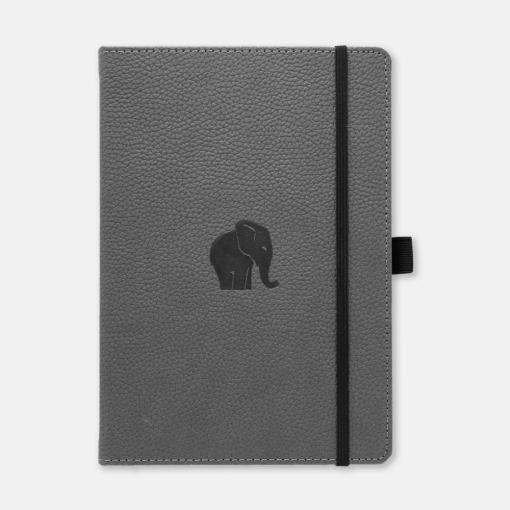 Dingbats Notebook Wildlife Grey Elephant