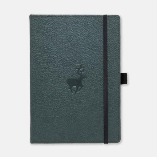 Dingbats notitieboek Wildlife Green Deer dotted