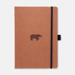 Dingbats notitieboek Wildlife Brown Bear dotted-2