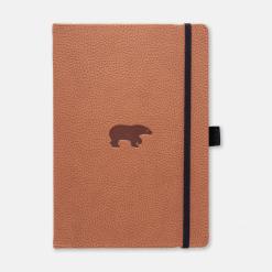 Dingbats notitieboek Wildlife Brown Bear dotted-2