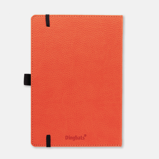 Dingbats notitieboek Wildlife Orange Tiger dotted 1