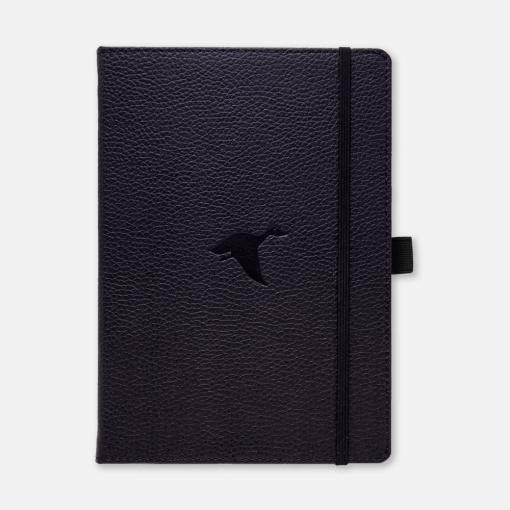 Dingbats notitieboek Wildlife Black Duck dotted