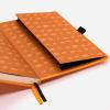 Dingbats notitieboek Earth Tangerine Serengeti dotted 1