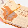 Dingbats notitieboek Earth Tangerine Serengeti dotted 3