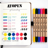 Dingbats* Atopen dual brush pens - primary 4