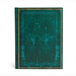 Paperblanks notitieboek Old leather Viridian ultra