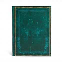 Paperblanks notitieboek Old leather Viridian ultra