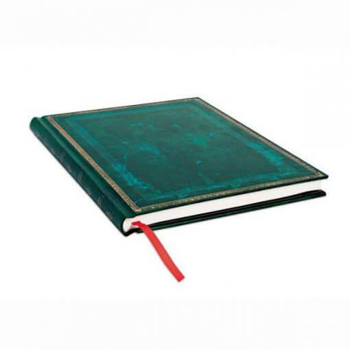 Paperblanks notitieboek Old leather Viridian ultra 1