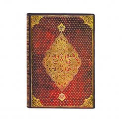 Paperblanks notitieboek Golden Trefoil Midi