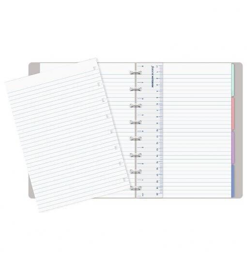 Filofax notitieboek A5 Pastel Stone 2