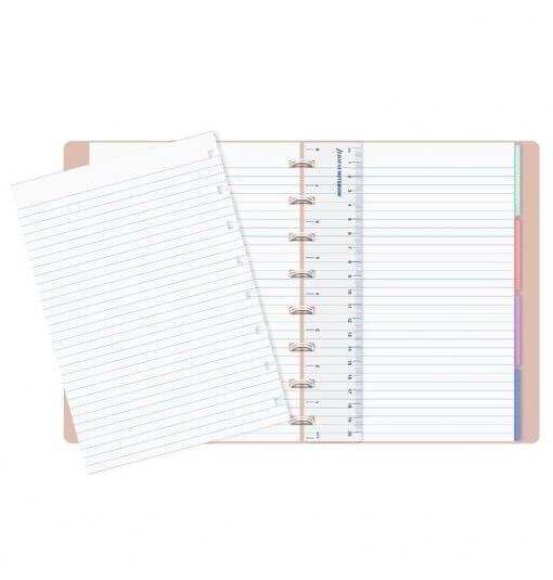 Filofax notitieboek A5 Pastel Peach 2