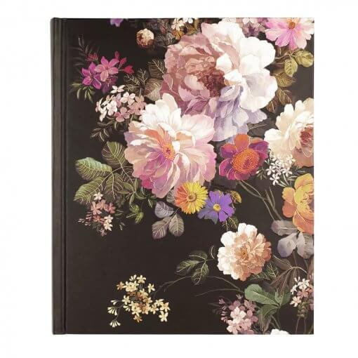 Peter Pauper notitieboek Midnight Floral