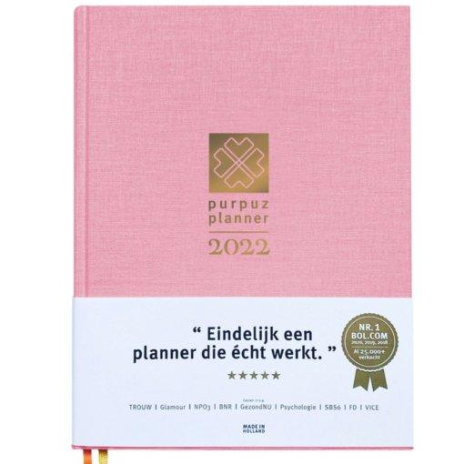 Purpuz Planner 2022 Pink
