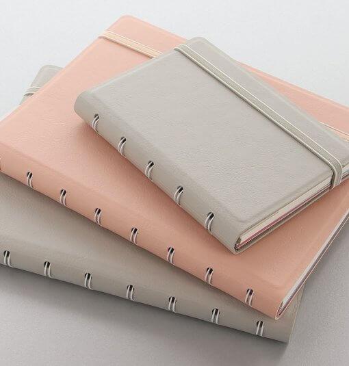 Filofax notitieboek A4 classic pastel peach 3