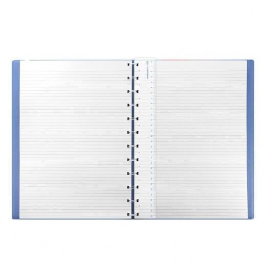 Filofax notitieboek A4 classic pastel blauw 2