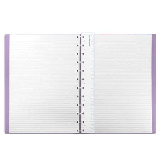 Filofax notitieboek A4 classic pastel orchid 2
