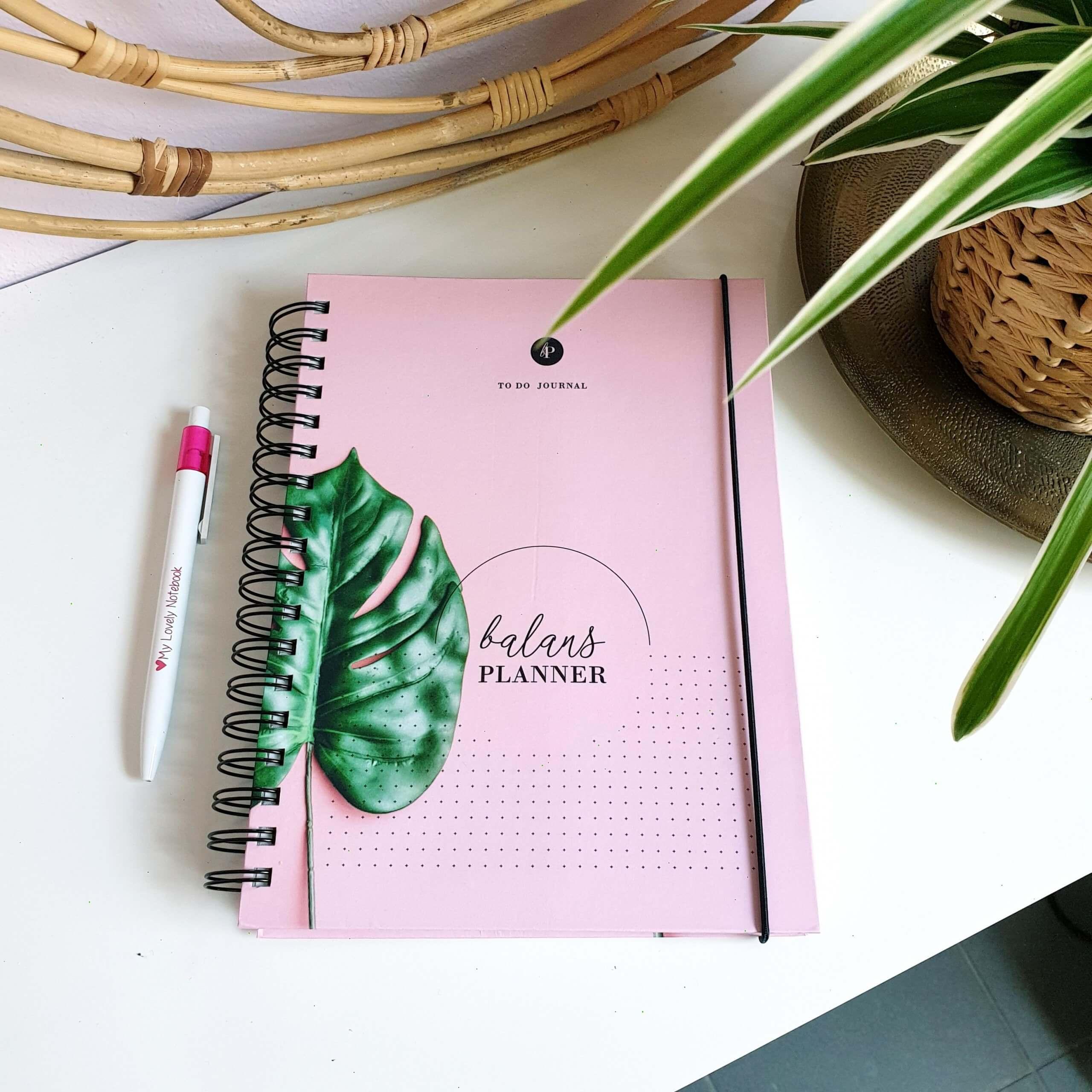 Balans Planner Pink