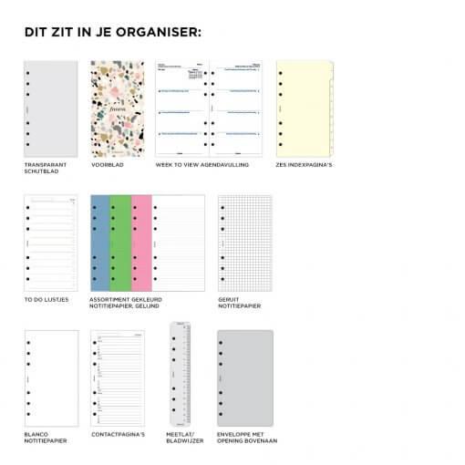 Filofax organizer Architexture Terrazzo Personal 3