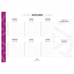 Own your succes weekplanner A4